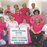 West Pittston Cherry Blossom banner fundraiser