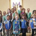 Penn's Woods Community #331 celebrate Girl Scout Sunday