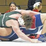 Wyoming Area wrestler Corey Mruk pulls off pair of 1-point decisions