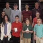 Pittston Area School District students participate in regional math competition