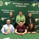 Wyoming Area golfer Nik Athmann to attend University of Sciences