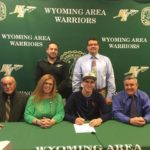 Wyoming Area's Alex Chronowski will participate in track and field at Keystone College
