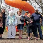 West Pittston Crime Watch holds Easter Egg Hunt