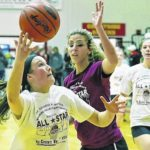 Pittston Area's Bartoli, Durling, Ashby share time together in all-star game