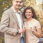 Mariah Dunn and Ryan Fletcher engagement