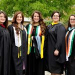 Maggie Guarnieri follows in sisters' footsteps and graduates from Misericordia University