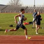 Pittston Area Jr. High Track & Field team hosts Crestwood Comets