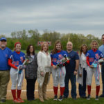 Pittston Area softball seniors honored during game against Coughlin on May 4