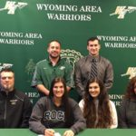 Wyoming Area senior Vanessa Shedlock commits to Slippery Rock, wins first individual track title