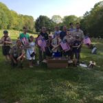 West Pittston Scouts distribute flags to military veteran grave sites