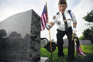 Flag holders continue to disappear from veterans' graves in Luzerne County